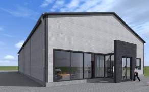 Budynek logistyczno-magazynowy w Mierzynie