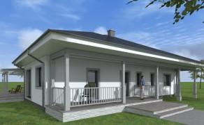 Dom jednorodzinny w Dobrej (1) k. Szczecina