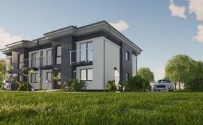 Budynek mieszkalny 4-lokalowy w Szczecinie (2)