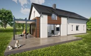 Dom z antresolą (GR-01)