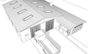 Budynek warsztatu w Suchaniu