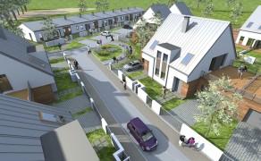Osiedle domów szeregowych w Drawsku Pomorskim